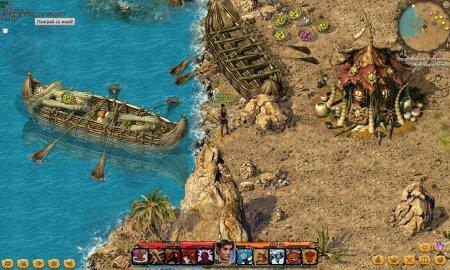 Мезолит - браузерная онлайн стратегия с элементами RPG