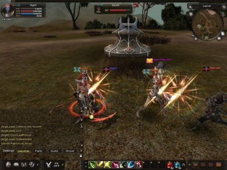 KAROS - бесплатная клиентская онлайн MMORPG