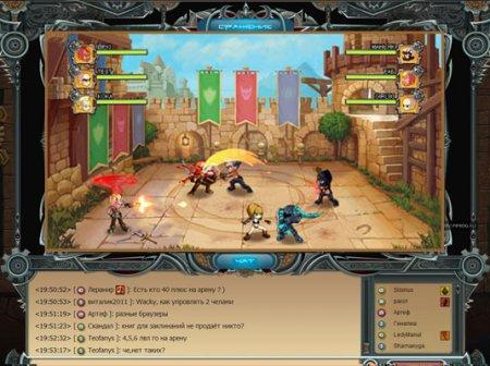 Гнев Богов - бесплатная браузерная фэнтези онлайн игра