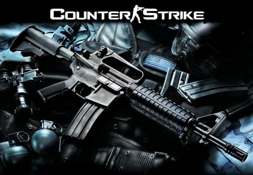 Популярный шутер Counter-Strike 1.6